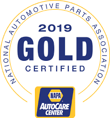 Gold Napa Auto Care Center